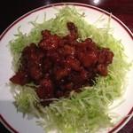Ninnin - 豚肉の黒酢炒め