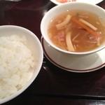 Ninnin - ご飯、スープ