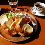 ティーカフェ - トーストセット