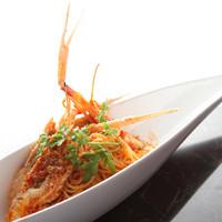 キュベ イトウ - 国産スカンピ(手長海老)のトマトソース