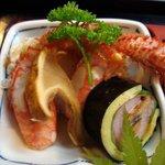 つるや - つるや定食2009・毛蟹と巻物に松茸