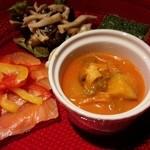 トリプルトゥエンティ - コースの前菜