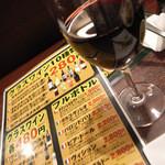 24482612 - 4)グラスワイン(280円~:税別)
