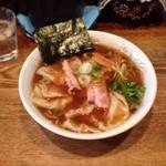 麺屋 八蔵 - 肉ワンタン麺