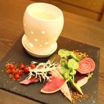 Reconnaissance - 蟹味噌が入ったソースがポイント高い☆