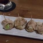 富士宮焼きそばこころ - 長芋とネギの重ね焼き