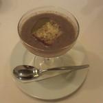 イルメリオ - ストゥッツィキーノ 秋刀魚とゴボウのスープ、ガーリックトーストとチーズ