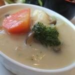 Cafe 5884 - 白味噌のホワイトシチュー