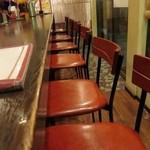 セイロンキッチン Bentota - 店内カウンター