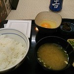 吉野家 - 朝納豆定食