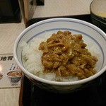 吉野家 - 納豆