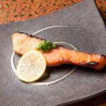 さっぽろ鮨処 海森 - サーモンの西京焼き