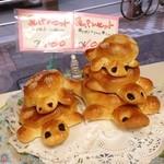 パルファン キムラヤ - 店内に飾られた亀パンセット