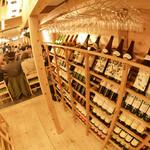 食道楽 - ワイン好きはワクワクしてしまうワインの品ぞろえ!