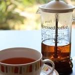 ウェルズ キッチン - ダージリン・アッサム・アールグレイは 「ティープレッソ」でお出ししますので、二杯分飲めてお得です!