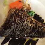 グラン・ゴジェ - メイン:舞鶴産サゴシのソテー・バルサミコソース