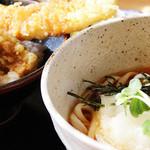 うどん市 - おろし穴子丼レディースセット