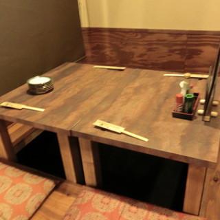 個室や、適度な距離をとったお席へのご案内をさせて頂きます