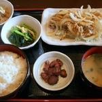炙り家 - 生姜焼き定食