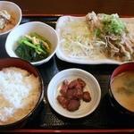 炙り家 - 三元豚のねぎ塩カルビ定食