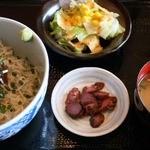 炙り家 - マグロしらす定食