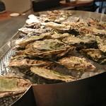 石花 - 石花自慢の牡蠣台