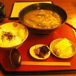 2450921 - カレーうどん定食