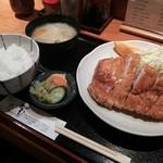 24501741 - ロースカツ定食1400円≪2014年2月≫
