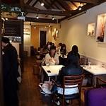 Cafe Xando - ほとんどが女性のお客さんでした