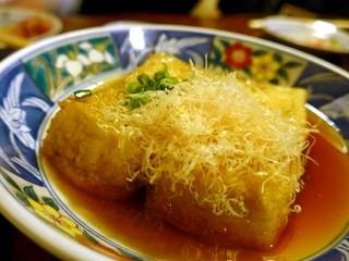 赤津加 - 揚げ出し豆腐