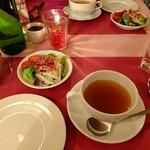 神戸ブランド亭 - 特選!神戸牛ランプステーキ120gセット:3450円(スープ・サラダ・ライスかパン付き)
