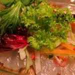 ボジュン トミガヤ - 本日の鮮魚のカルパッチョ