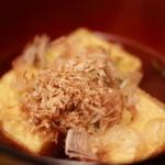 てん - 揚げ出し豆腐480円