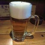 どんぞこ - 生ビール(350円)