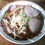 藤食堂 - 「中華そば」400円