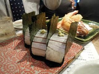 俺の割烹 銀座本店 - 鯖寿司
