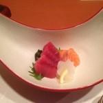 和創作 瑞楽 - 2品目。刺身おいしいです。