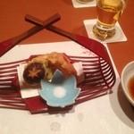 24507738 - 5品目。野菜の天ぷら。以上で3千円のコース完了。