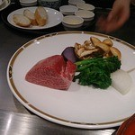 那古亭 - 料理写真:A5黒毛和牛のコース