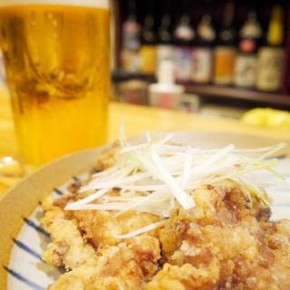 唐揚げビールセット★500円!