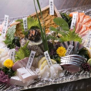 魚の美味しいお店!