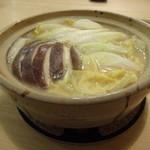 24513456 - 京風白味噌鍋1人前 ¥850