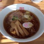 菊華 - 醤油ラーメン