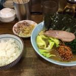 24515195 - 赤丸爆弾麺