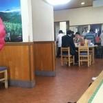 塩山館食堂 - 店内