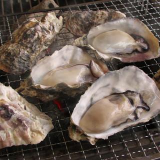 牡蠣&白はまぐりの食べ放題