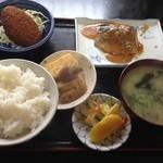 あい家 - 鯖味噌定食¥750