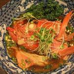 つりさし - 料理写真:金目鯛兜煮 薄味で魚本来の味を