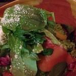 魚々バル - 温泉玉子のシーザーサラダ