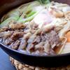 桃太郎うどん - 料理写真:1番人気の牛鍋うどん